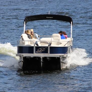 pontoon boat tours