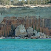 Pictured Rocks cliffs