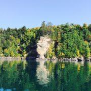 Grand Island shore