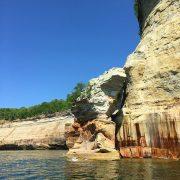 pictured rocks cliffs