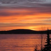 Munising sunset
